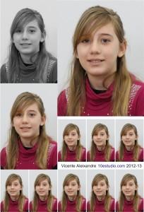Fotos individuales para orla