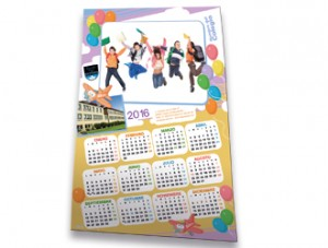Calendario pared fotoescuela